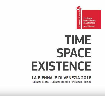 TIME SPACE EXISTENCE – BIENNALE DI VENEZIA 2016