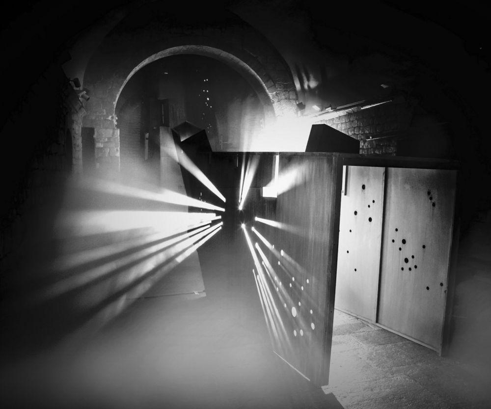 """Premios de Arquitectura. La instalación """"3a Cara de la Lluna"""" del Centre d'Art Contemporani el Bòlit, de Pep Admetlla i Isaki Lacuesta"""